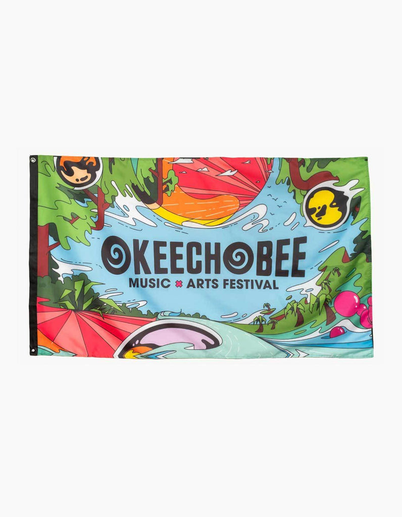 Okeechobee Waves Flag