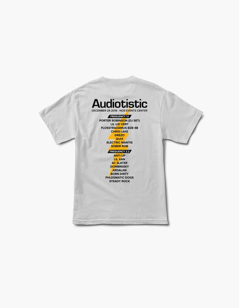 Audiotistic 2018 - So Cal - Socal 2018 Line Up Tee