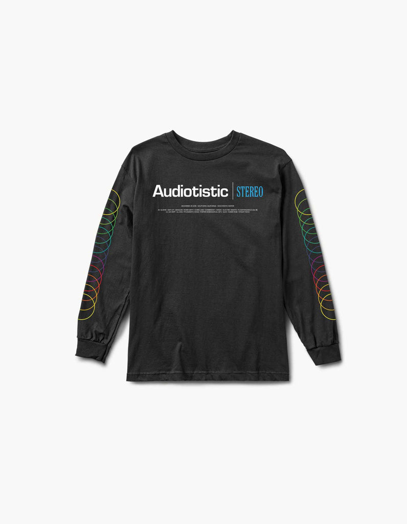Audiotistic 2018 - So Cal - Steriophonic Line Up L/S Tee