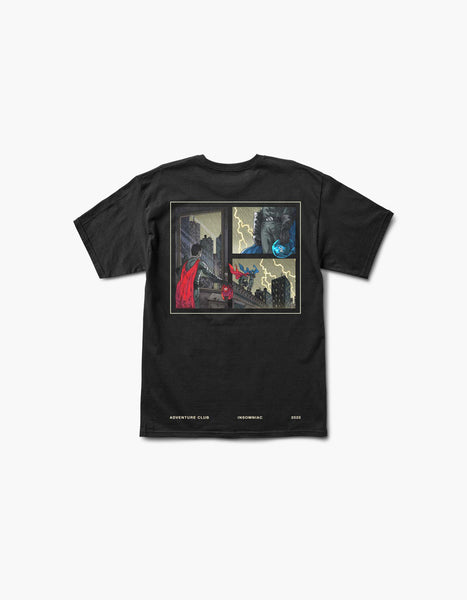 Insomniac x Adventure Club Superheroes Anonymous S/S Tee