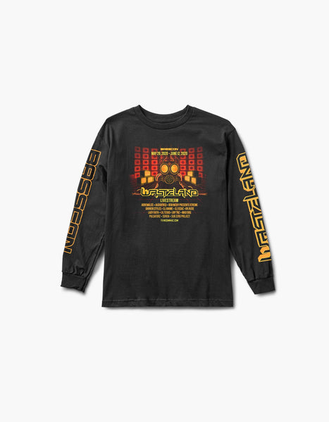 Virtual Basscon Wasteland L/S Tee