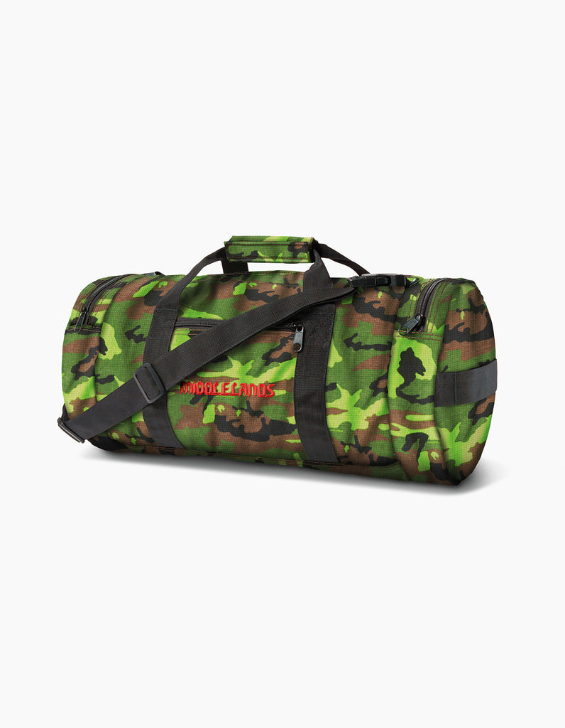Camo Duffle Bag Green
