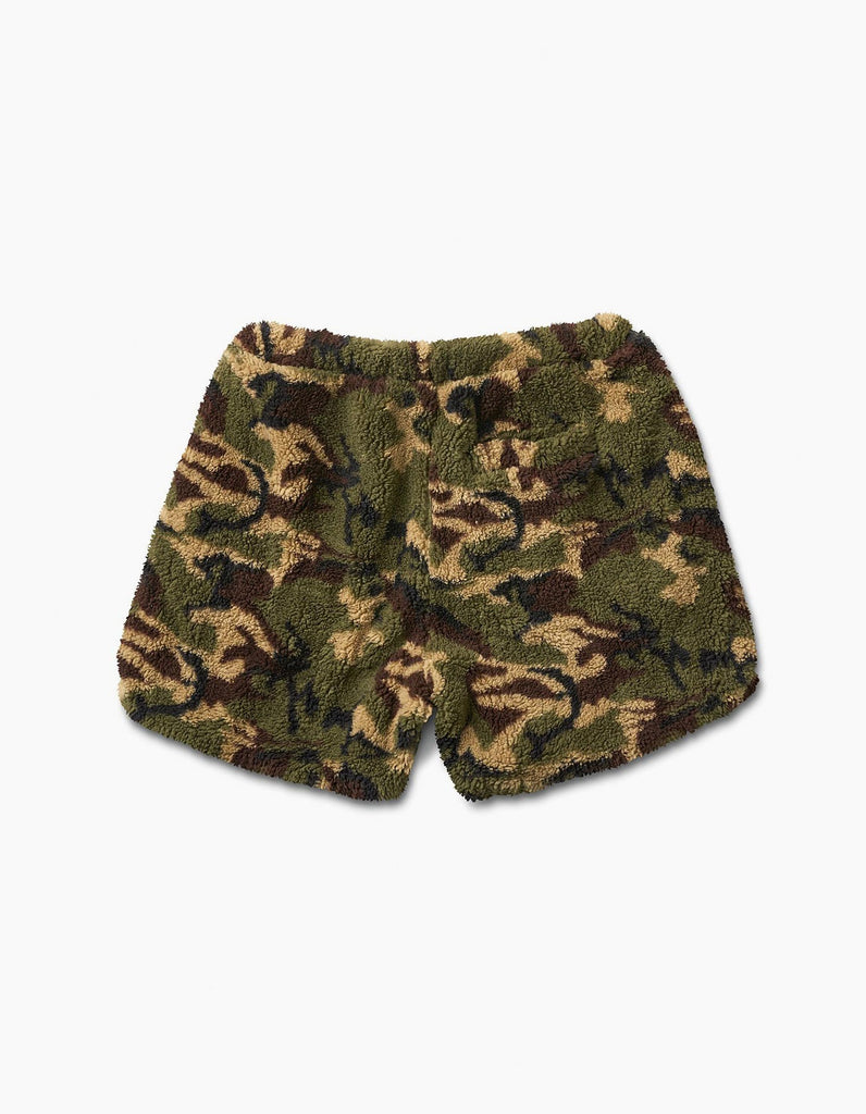 Camo Sherpa Short Green