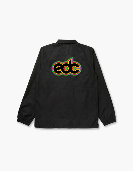 Virtual Electric Rainbow Coach Jacket