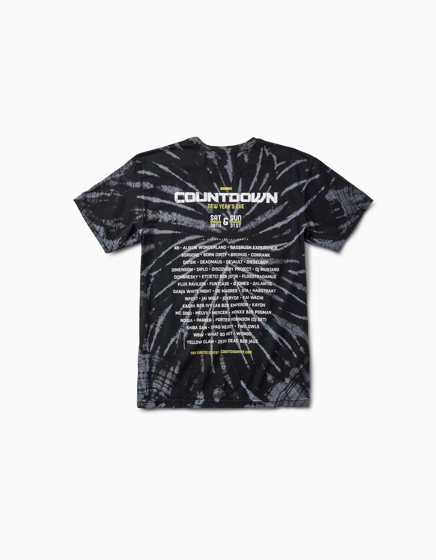 Countdown 2017 - Clockwork Line Up Tee