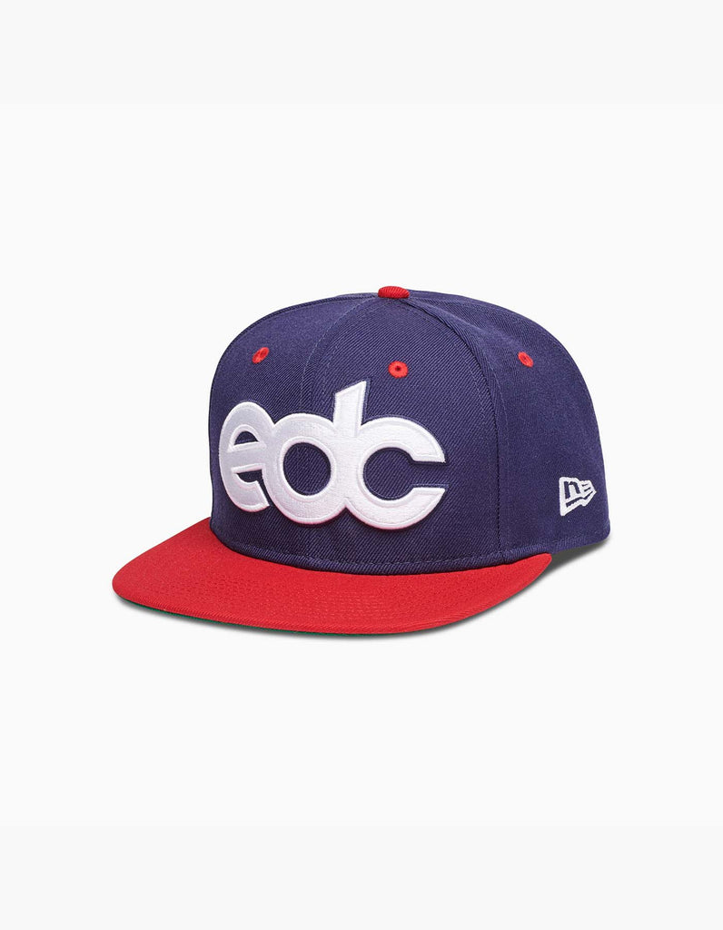 EDC New Era Dugout Hat Navy