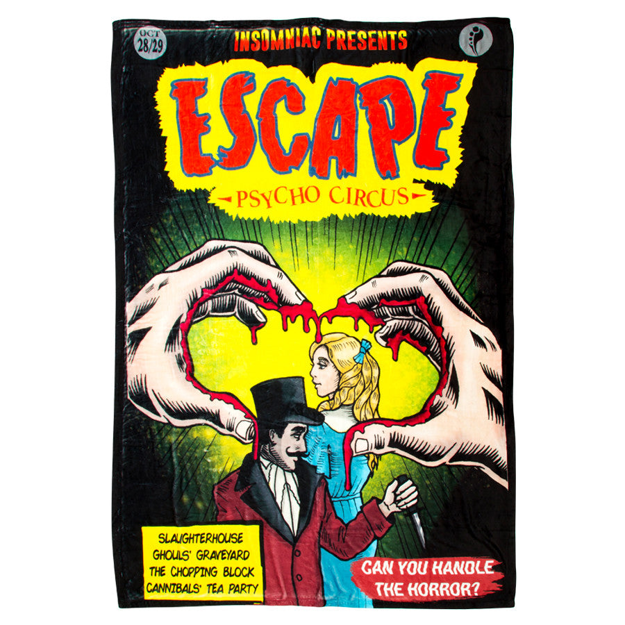 Escape Comic Book Blanket
