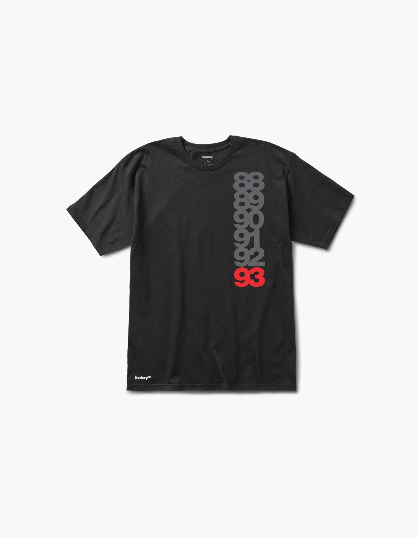 Factory 93 Numbered Tee