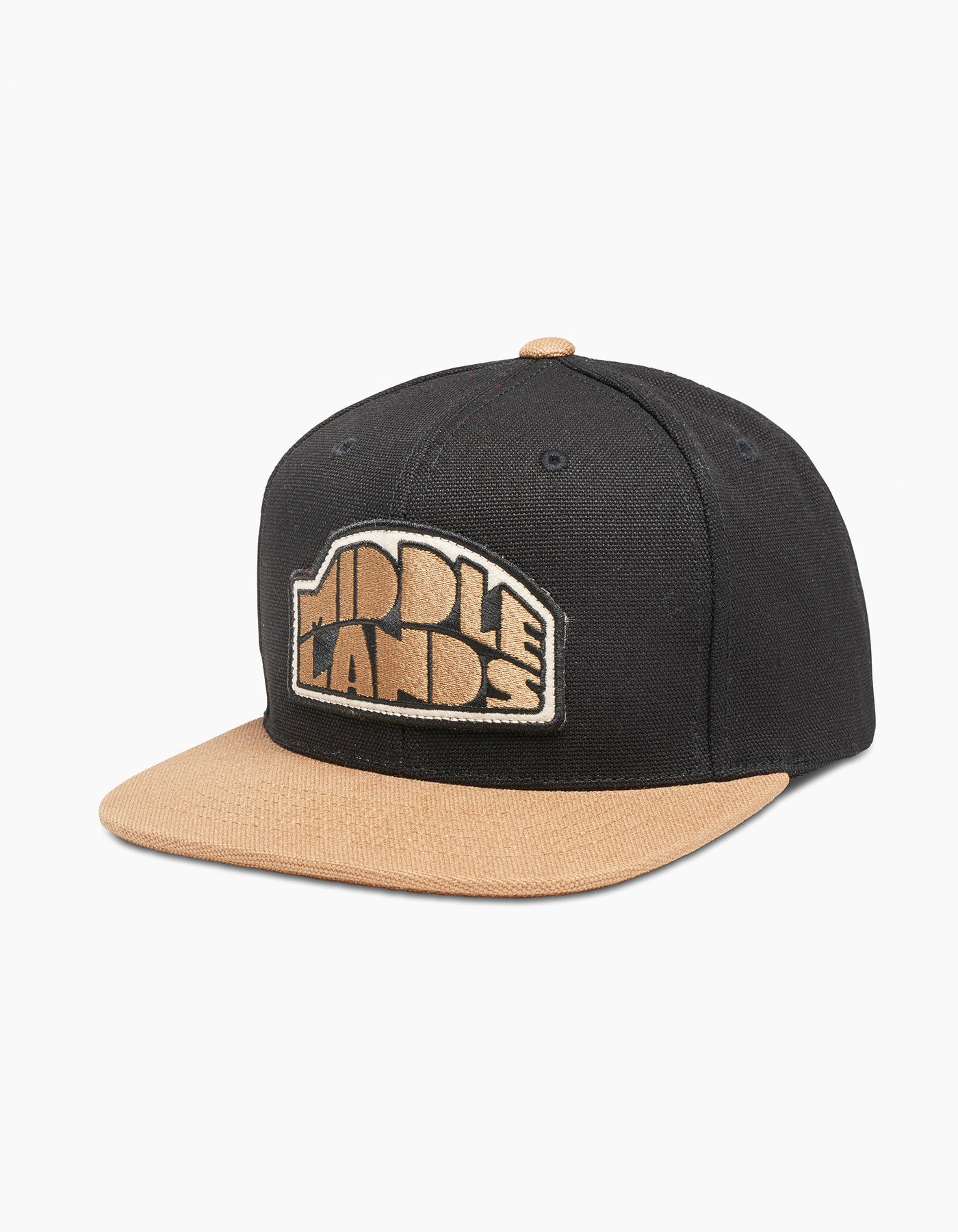 Boulder Logo Canvas Cap Black