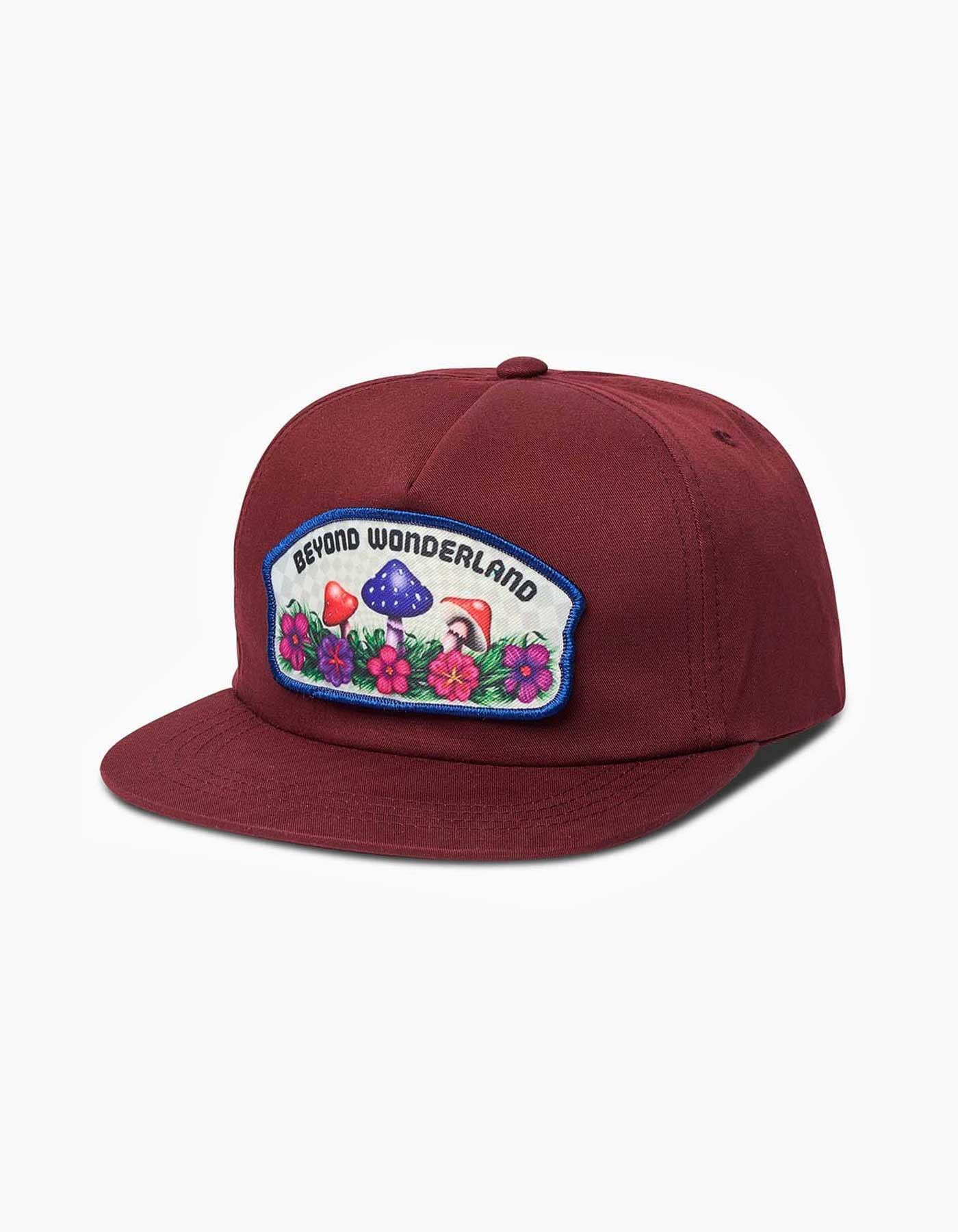 Beyond Wonderland Shroomy Patch 5 Panel Hat