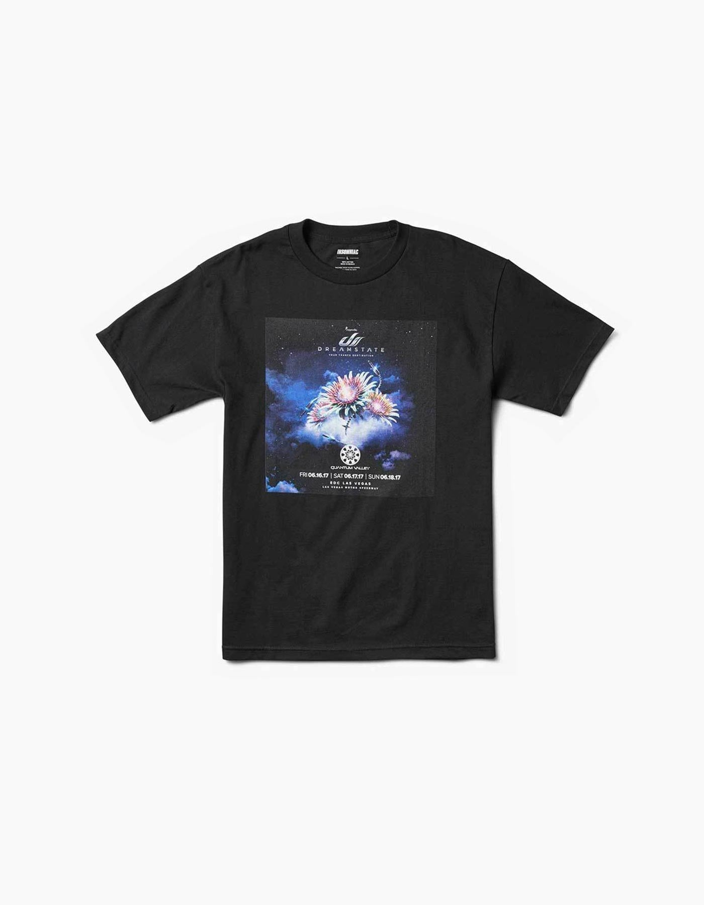 Dreamstate Quantum Valley EDC Line Up Tee