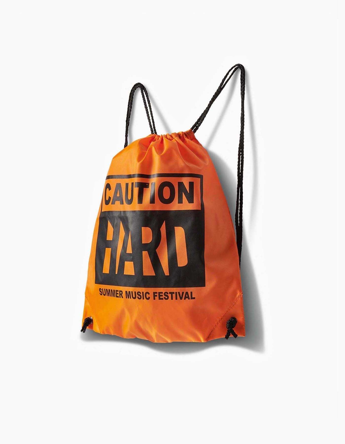 HARD - Caution Cinch Bag