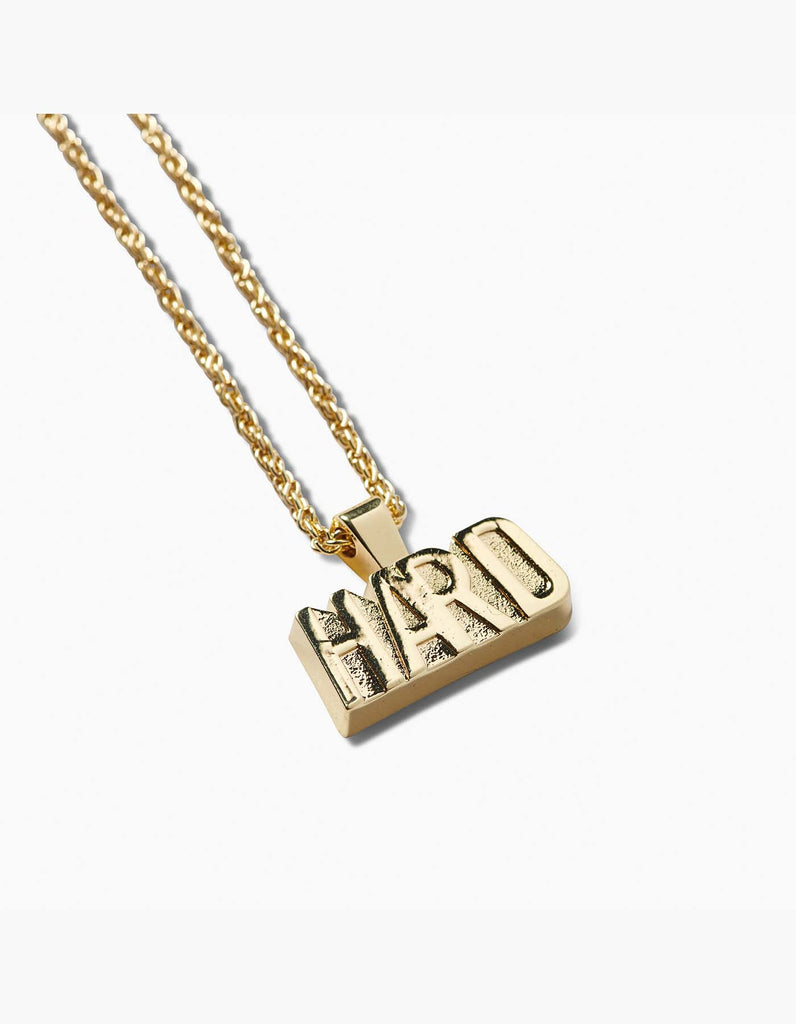 HARD - Nameplate Necklace