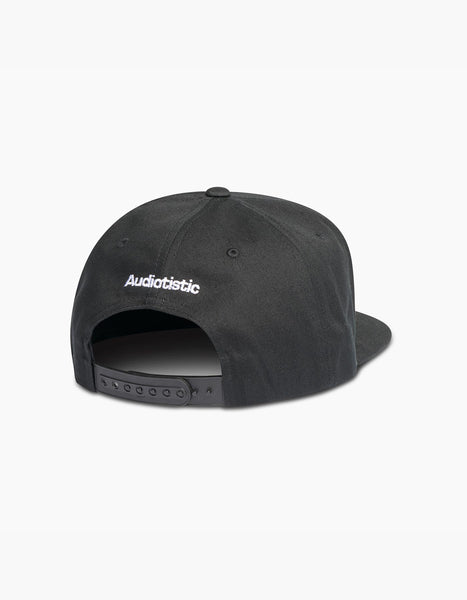 Audiotistic Strike Snapback Black