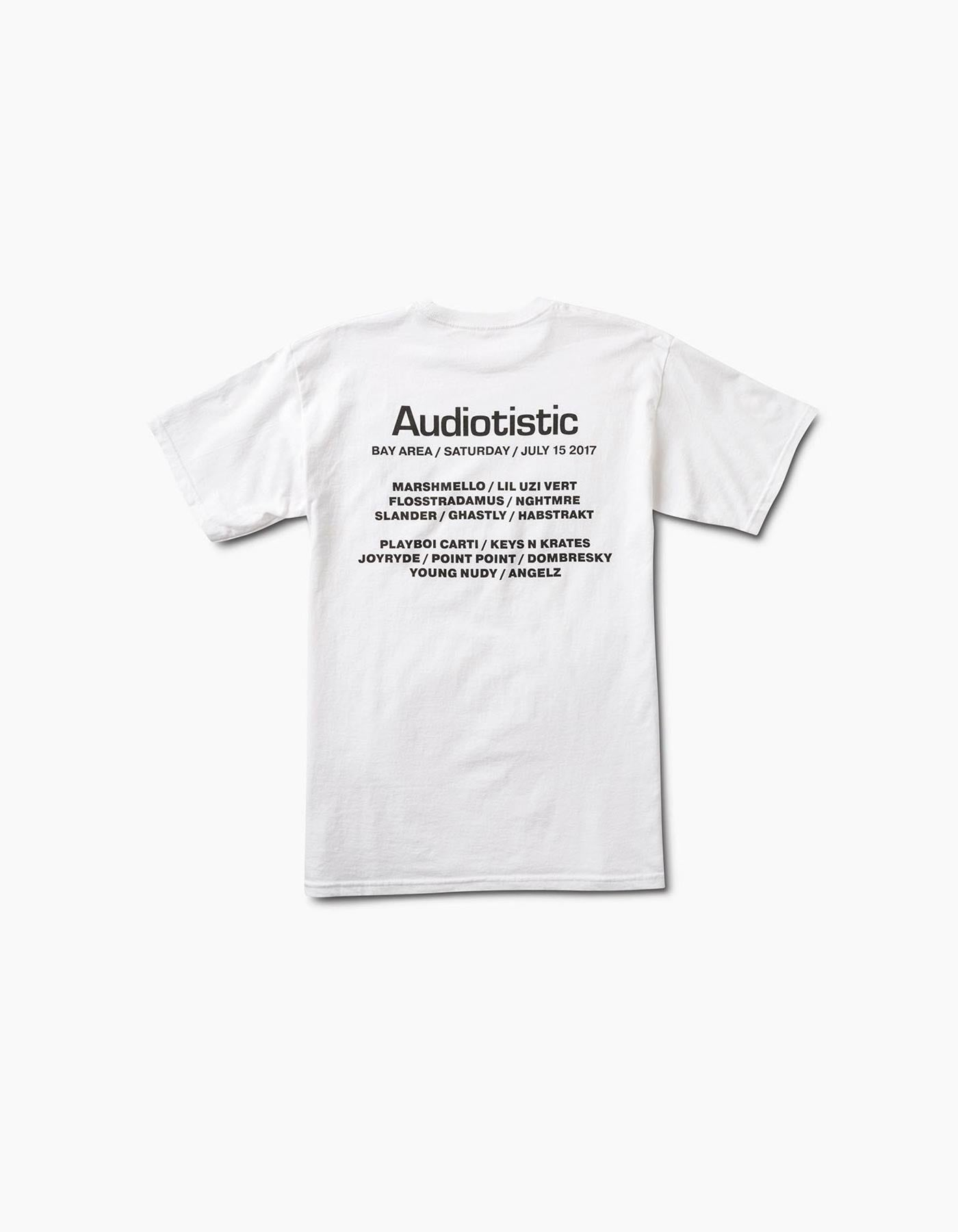 Audiotistic Audiotech 2017 SF Line Up Tee