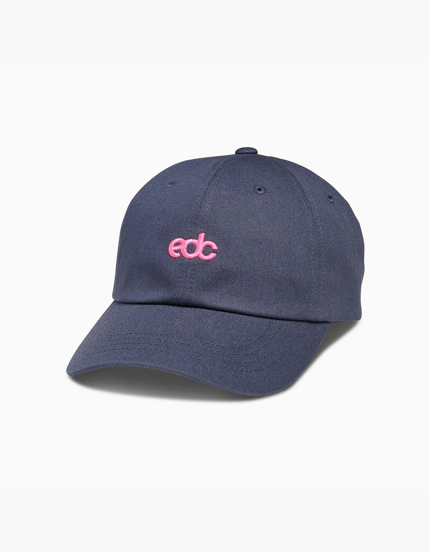 EDC Logo Dad Hat Navy