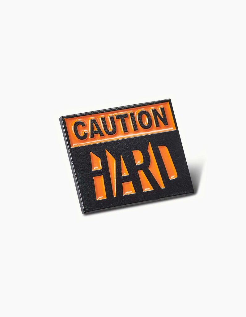 HARD - Caution Pin
