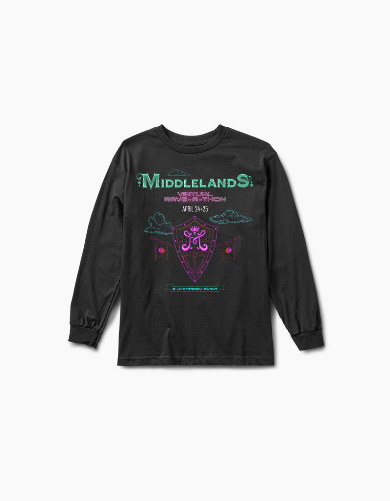 Virtual Middlelands Shield L/S Tee