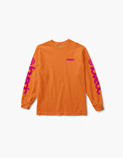 Virtual Eye Love EDC L/S Tee Orange