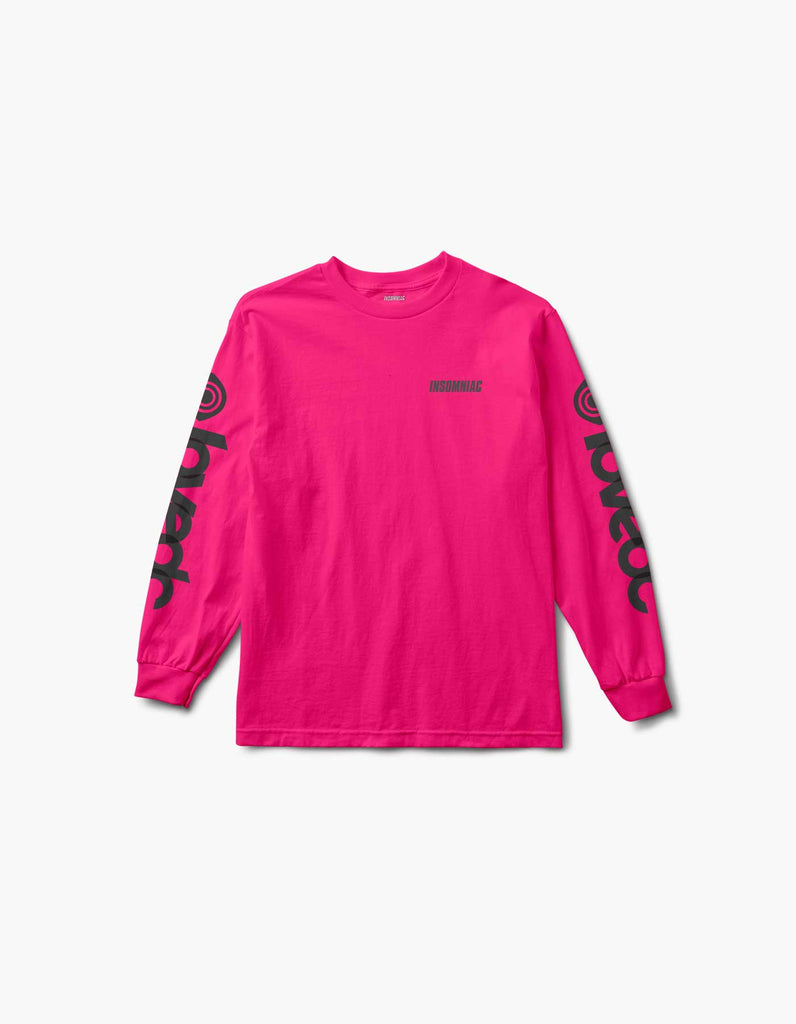 Virtual Eye Love EDC L/S Tee Pink