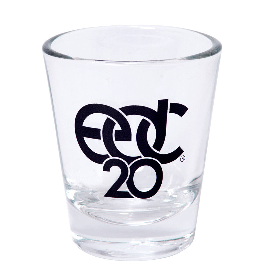 EDC 0th Anniversary Shot Glass