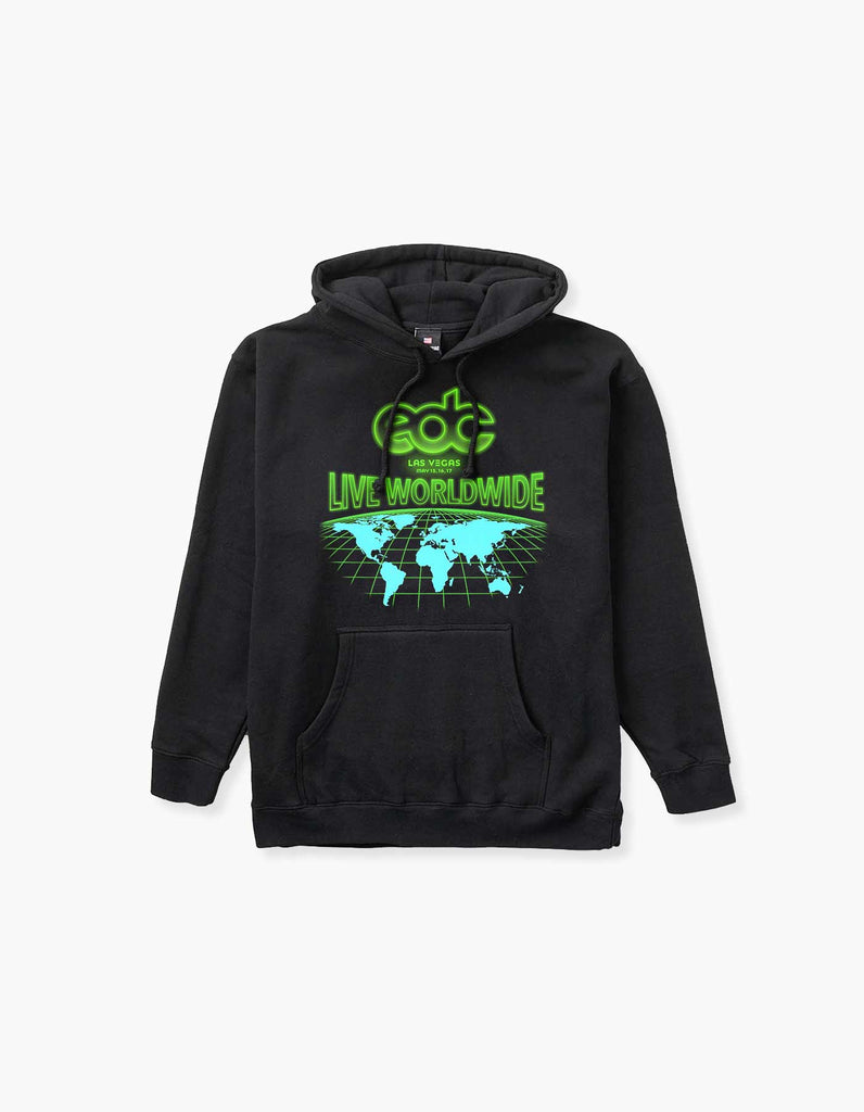 Virtual EDC Live Worldwide Pullover Hood