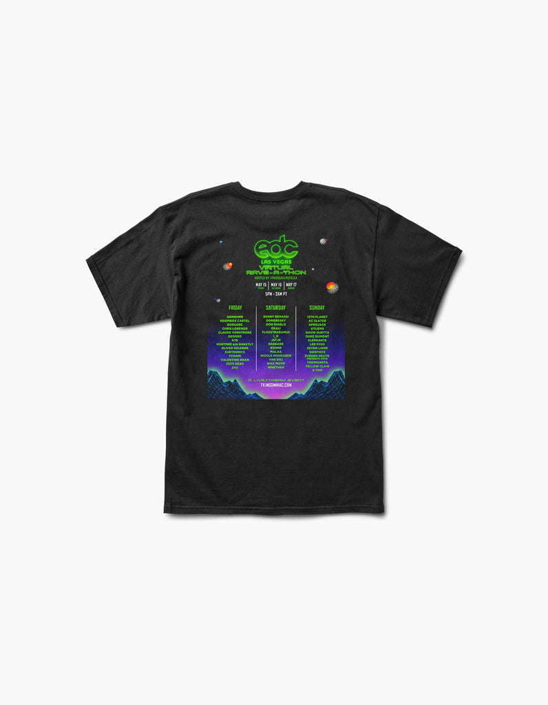 Virtual EDC Live Worldwide S/S Tee