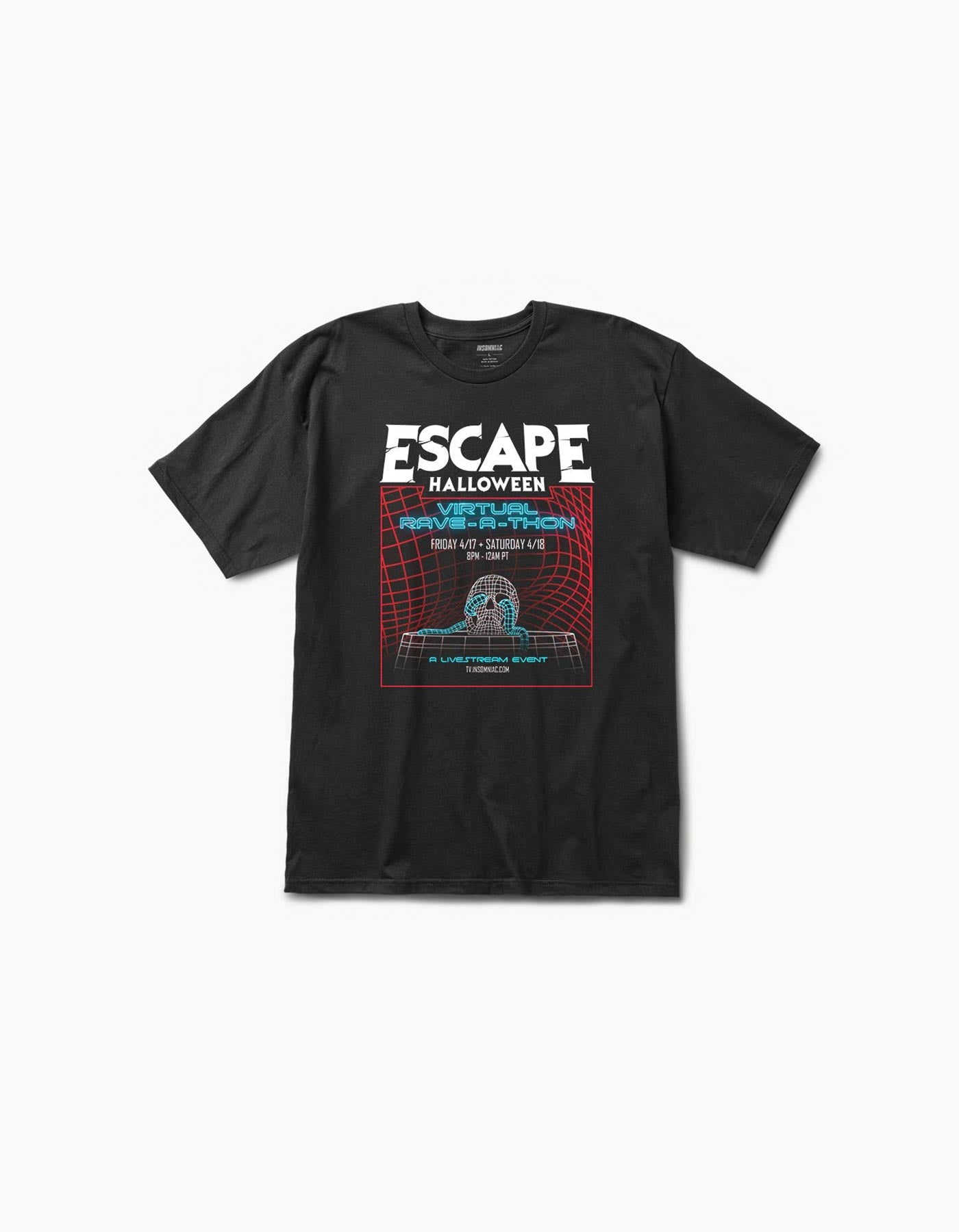 Virtual Escape Tee Black
