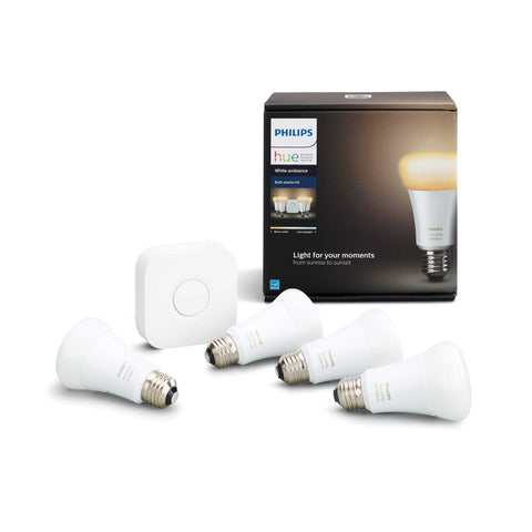 Philips Hue White Ambiance Starter (4 bulbs)