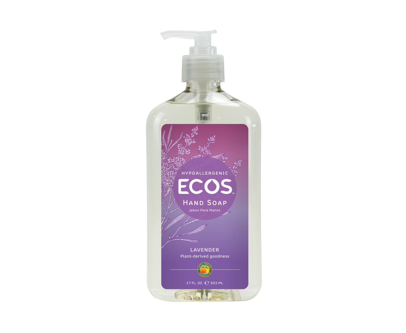 Earth Friendly Products Lavender Hand Soap 17oz