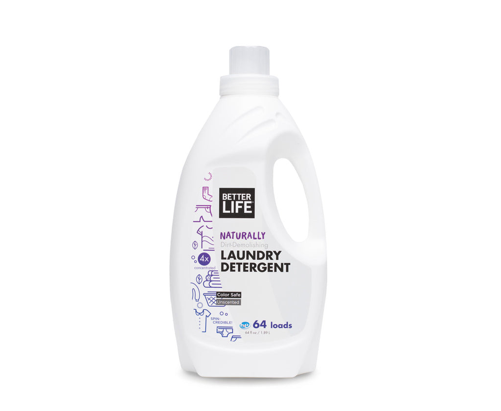 Better Life Laundry Detergent, Unscented