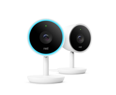 Nest Cam IQ Indoor Security Camera - 2 Pack