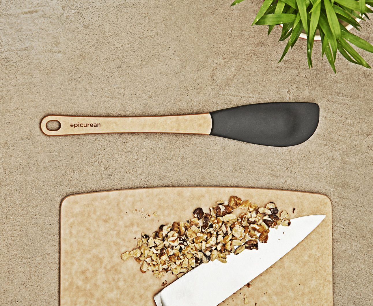 Epicurean Silicone Series Medium Spatula Natural/Slate