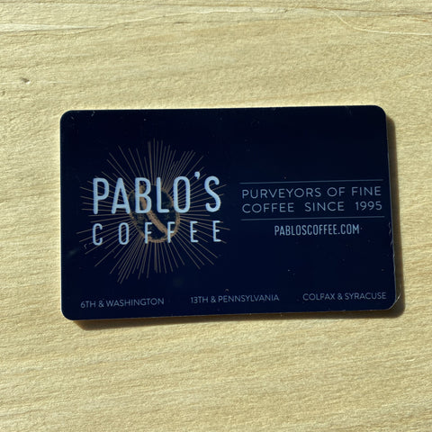 Gift Cards (IN STORE USE ONLY)