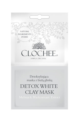 Detox white clay mask