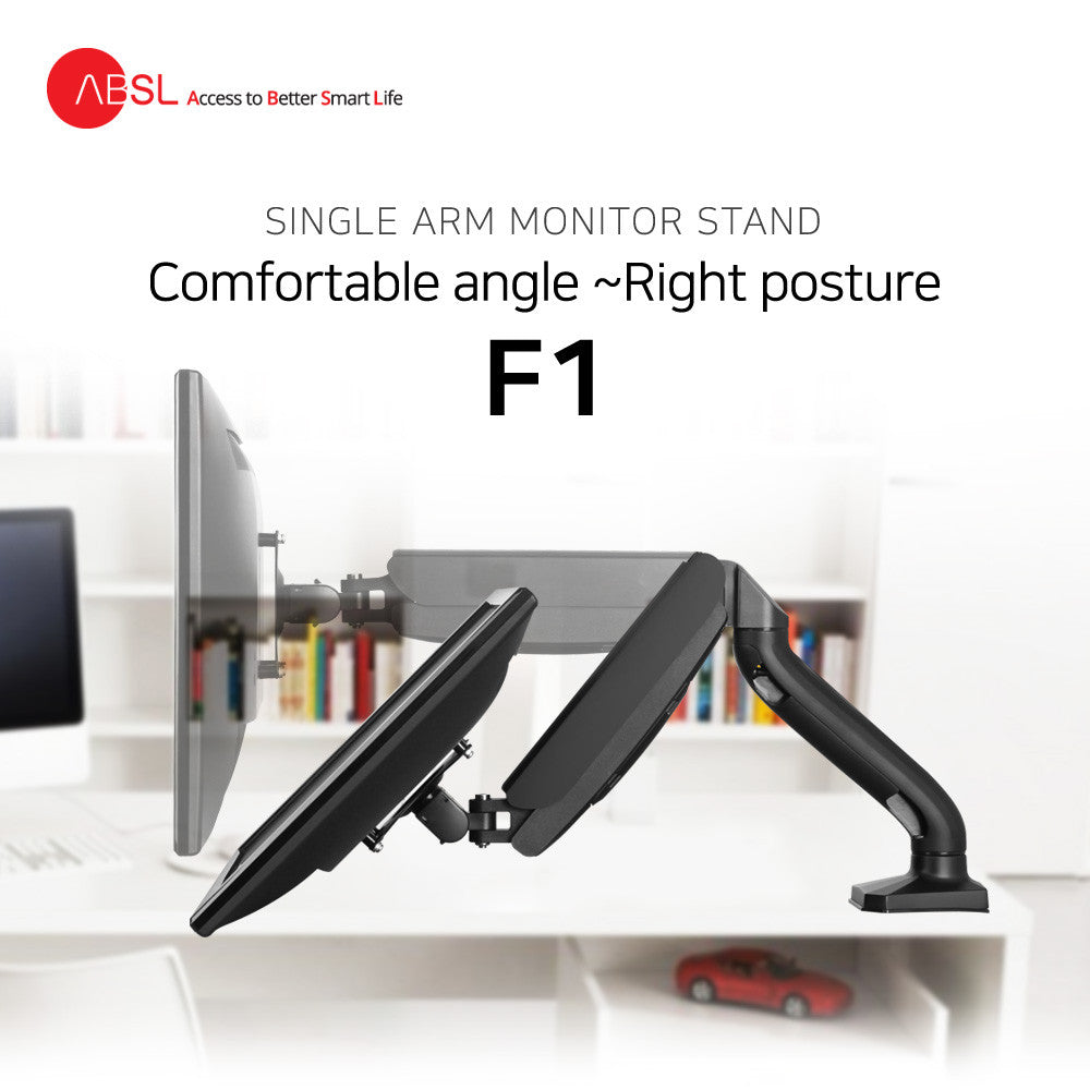 ABSL Single Arm Monitor Stand F1