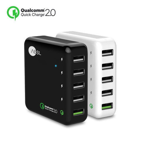 5-Port Quick Charge 2.0  USB Charger