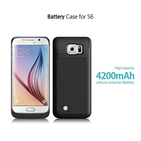 Galaxy S6 4200 mAh Battery Case