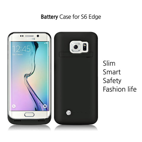 Galaxy S6 Edge 4200 mAh Battery Case
