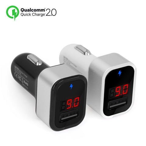 QCONE Quick Charge 2.0 18W USB 1Port Car Charger