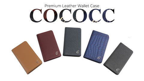 COCOCC Leather Wallet Case