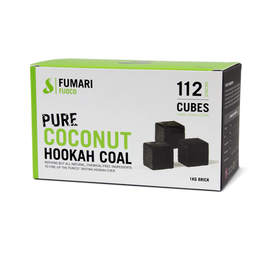 Fuoco Coconut Hookah Coal By Fumari  (112 pieces) - TheHookah.com
