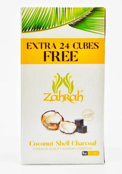 Zahrah Coconut Shell Charcoal Bonus Box