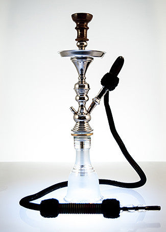 The Small Classic Hookah White - TheHookah.com