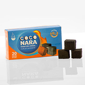 CocoNara Hookah Charcoal 20pc