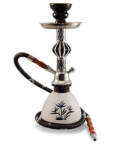 The Crown Hookah Black - TheHookah.com