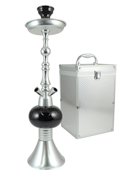 The Queen II Midnight Silver - TheHookah.com