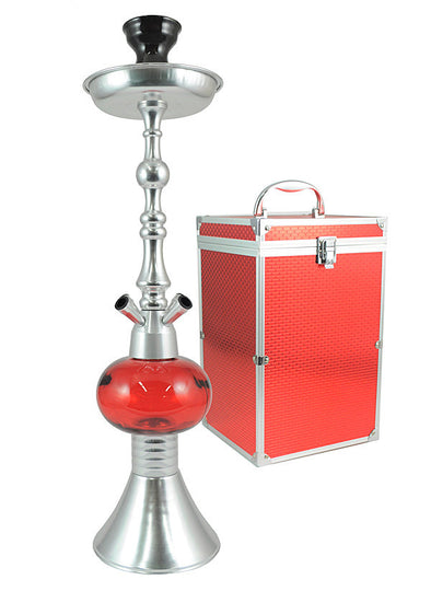 The Queen II Silver Ruby - TheHookah.com