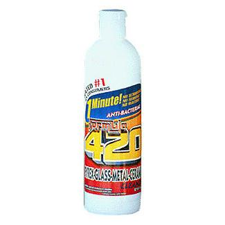 420 Cleaning Solution 12 oz - TheHookah.com
