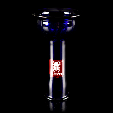 Kaya 4Tex Glass Bowl Blue - TheHookah.com